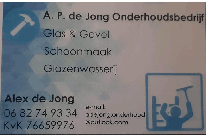 A.P. de Jong Onderhoudsbedrijf uit 's-Gravenhage