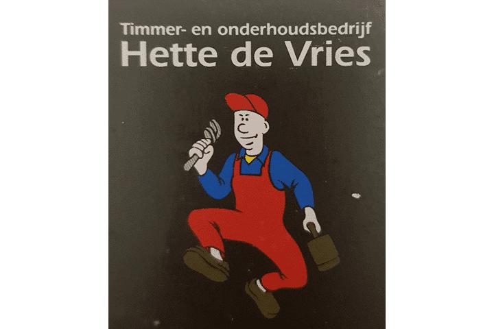Klussenbedrijf Hette de Vries uit Oudeschoot