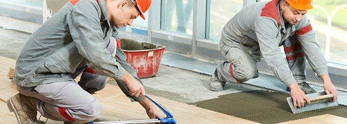 klusbedrijf vloeren leggen